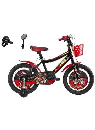 Rival Beemer 16 Jant Çocuk Bisikleti Zil Ayna Sepet Hediyeli Kırmızı